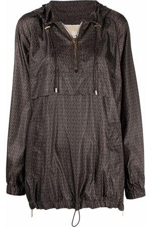 Michael Kors Women Sports Jackets - Logo-print windbreaker