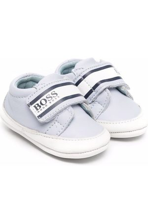 HUGO BOSS Touch-strap trainers