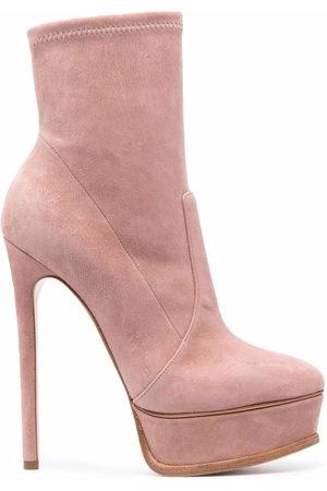 Casadei Women Ankle Boots - Stiletto-heel platform ankle boots