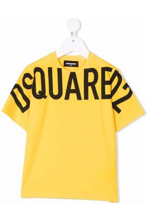 Dsquared2 Boys Short Sleeve - Logo-print cotton T-shirt