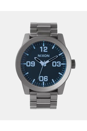 Nixon Men Watches - Corporal SS Watch - Watches (Gunmetal & Crystal) Corporal SS Watch
