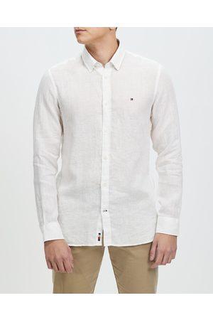 Tommy Hilfiger Men Casual - Premium Linen Shirt - Casual shirts Premium Linen Shirt