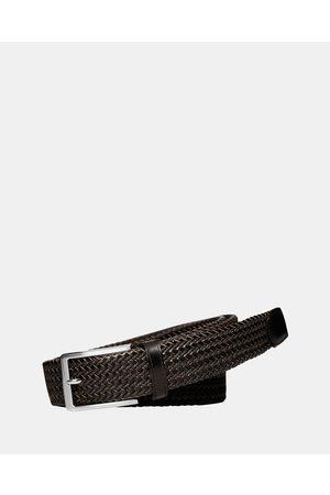 Buckle Daytona 35mm Plaited Belt - Belts Daytona 35mm Plaited Belt