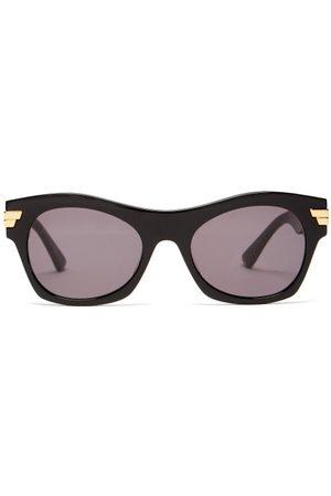 Bottega Veneta Square Acetate Sunglasses - Womens