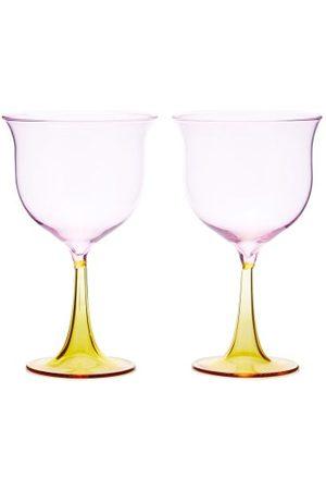 CAMPBELL-REY X Laguna B Set Of Two Cosimo Wine Glasses - Multi