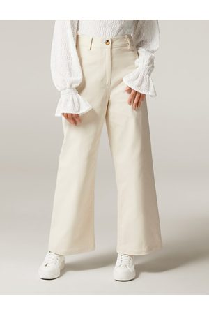 Forever New Women Wide Leg Pants - Donna Twill Wide