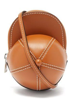J.W.Anderson Cap Nano Leather Cross-body Bag - Womens - Tan