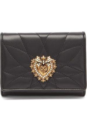 Dolce & Gabbana Women Wallets - Devotion Quilted-leather Wallet - Womens