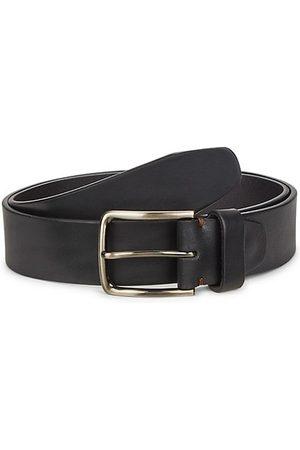 Saks Fifth Avenue Buckled Leather Belt