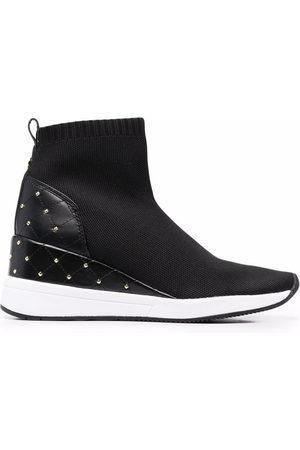 Michael Michael Kors Women Sneakers - Skylar high-rise sneakers