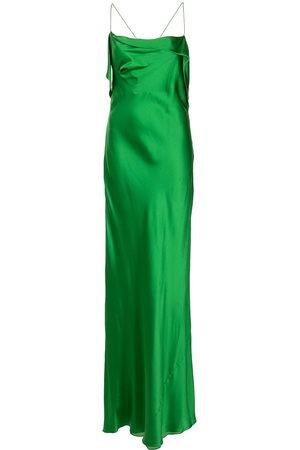 Michelle Mason Women Evening Dresses - Bias-cut silk gown