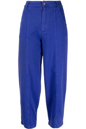 See by Chloé High-waisted cropped trousers