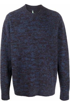 OAMC Speckled crew-neck jumper