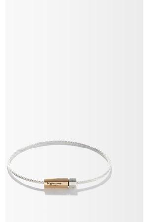 Le Gramme 7g 18kt Gold & Sterling- Bracelet - Mens