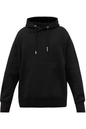Givenchy Felt-patch Cotton-jersey Hooded Sweatshirt - Mens