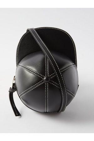 J.W.Anderson Men Briefcases - Cap Midi Leather Cross-body Bag - Mens