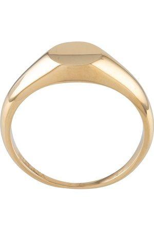 Nialaya Jewelry Men Rings - Mini signet ring