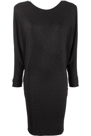 ALEXANDRE VAUTHIER Wide-shoulder knitted dress