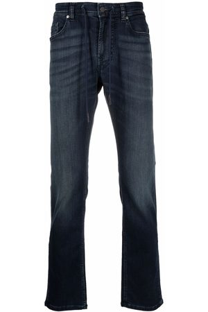 7 for all Mankind Mid-rise slim-fit jeans