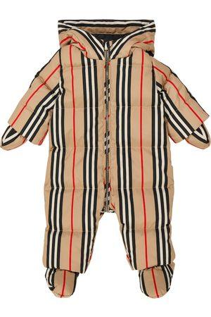 Burberry Kids Archive Check onesie