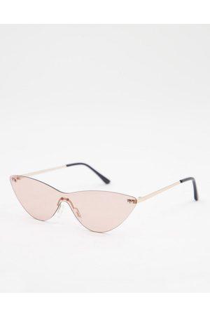 AJ Morgan Frameless cat eye sunglasses