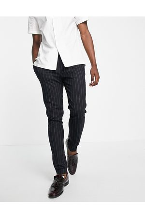 ASOS DESIGN Tapered smart pants in stripe