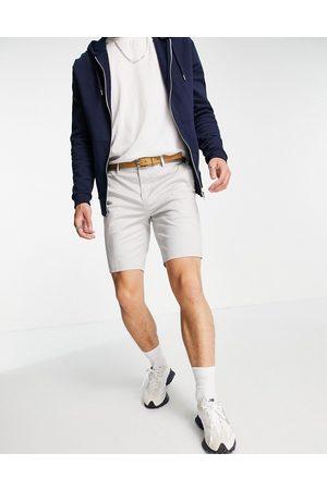 River Island Skinny denim shorts in