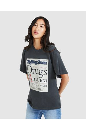 Rollas Rolling Stone Drugs Tomboy T-shirt Washed