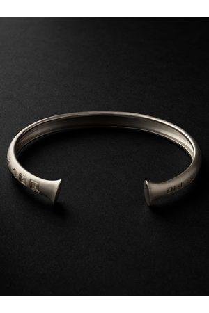 OLE LYNGGAARD COPENHAGEN Men Bracelets - Julius Engraved Cuff