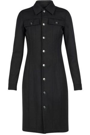 Bottega Veneta Patch-pocket Buttoned Shirt Dress - Womens