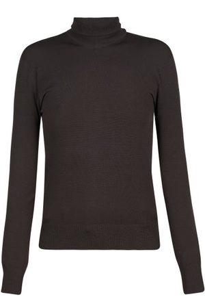 Bottega Veneta Roll-neck Sweater - Womens - Dark