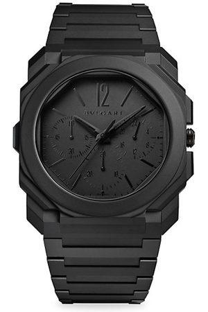 Bvlgari Octo Finnisimo Extra-Thin Sandblasted Ceramic Chronograph Watch