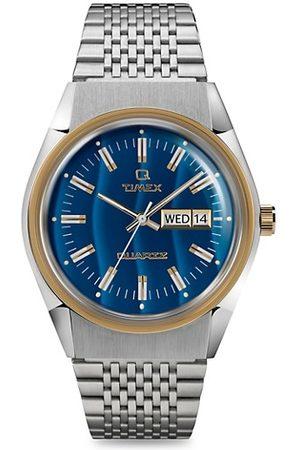 Timex Men Watches - Q Reissue Falcon Eye Two-Tone Stainless Steel Bracelet Watch