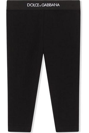 Dolce & Gabbana Kids Leggings - Logo waistband leggings