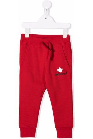 Dsquared2 Kids Sports Pants - Logo-print tracksuit bottoms