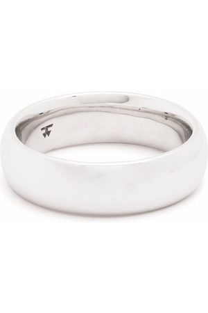 TOM WOOD Rings - Classic Band Large sterling ring