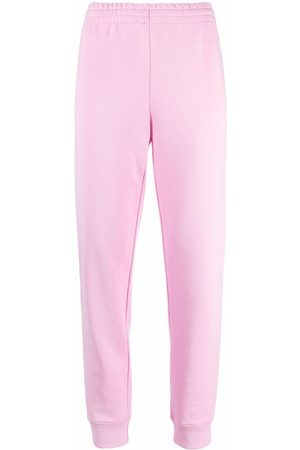 Moschino Logo-print cotton track trousers