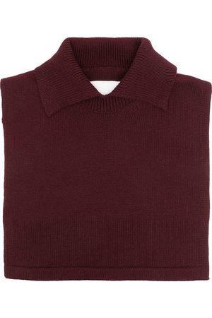Jil Sander Collared knitted bib