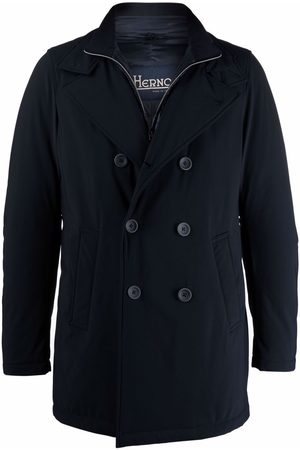 HERNO Double-breasted layered coat