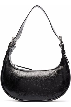 By Far Zip-up leather shoulder bag
