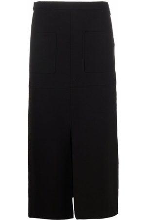Pinko Women Pencil Skirts - Front-slit pencil skirt