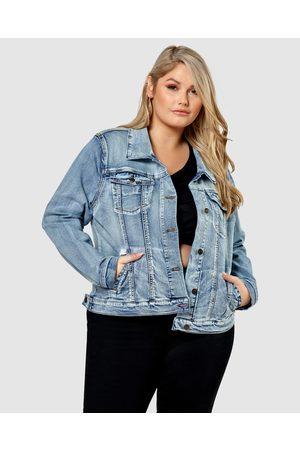 Indigo Tonic Women Denim Jackets - Augusta Denim Jacket - Denim jacket Augusta Denim Jacket