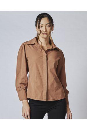 DRICOPER DENIM TE Vahine Shirt - Tops (Downtown ) TE Vahine Shirt