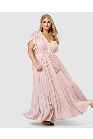 The Poetic Gypsy Women Maxi Dresses - Mysticism Lace Maxi Dress - Dresses Mysticism Lace Maxi Dress