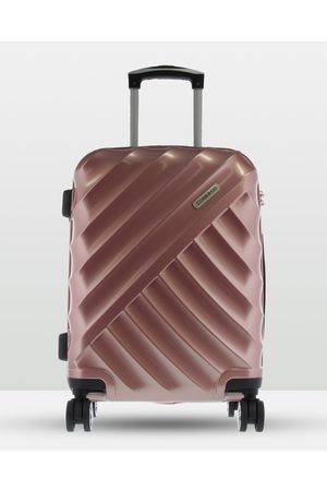 Cobb & Co Bendigo Polycarbonate Medium Hard Side Case - Travel and Luggage (ROSE ) Bendigo Polycarbonate Medium Hard Side Case