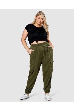 Indigo Tonic Women Cargo Pants - Cecily Cargo Joggers - Cargo Pants Cecily Cargo Joggers