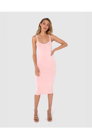 Madison The Label Women Bodycon Dresses - Portia Knit Dress - Bodycon Dresses Portia Knit Dress