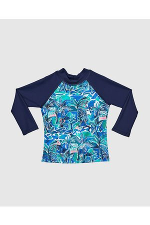Aqua Blu Baby Rash vests - Argos Long Sleeve Rash Vest Babies - Swimwear (Argos) Argos Long Sleeve Rash Vest - Babies