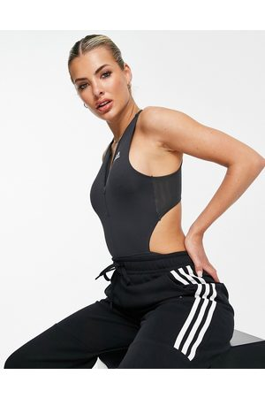 adidas performance Adidas Training body with cut out detail in