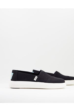 TOMS Exclusive Alpagarta Mallow Earthwise sustainable flat shoes in canvas